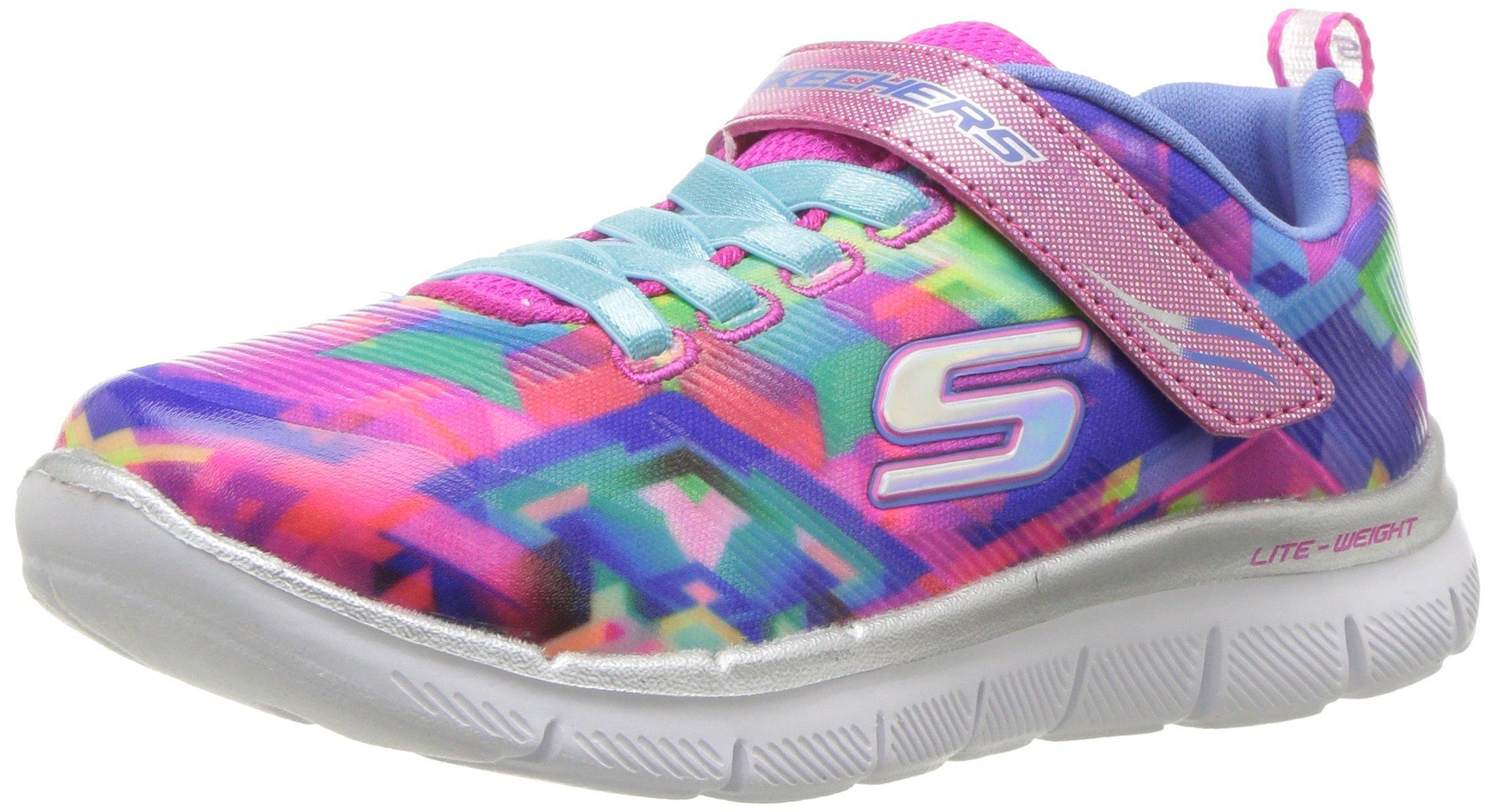 Skechers Kids Girls' Skech APPEAL2.0-Color ME Cute Sneaker, Blmt, 12 Medium US Little Kid