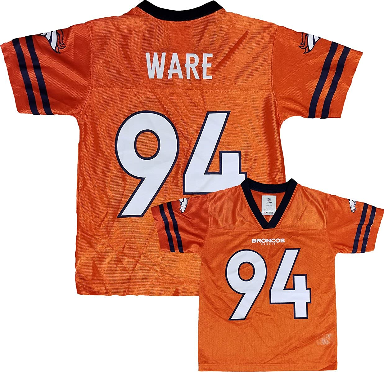 the latest bccb4 6bd94 Amazon.com: Outerstuff Demarcus Ware Denver Broncos Orange ...