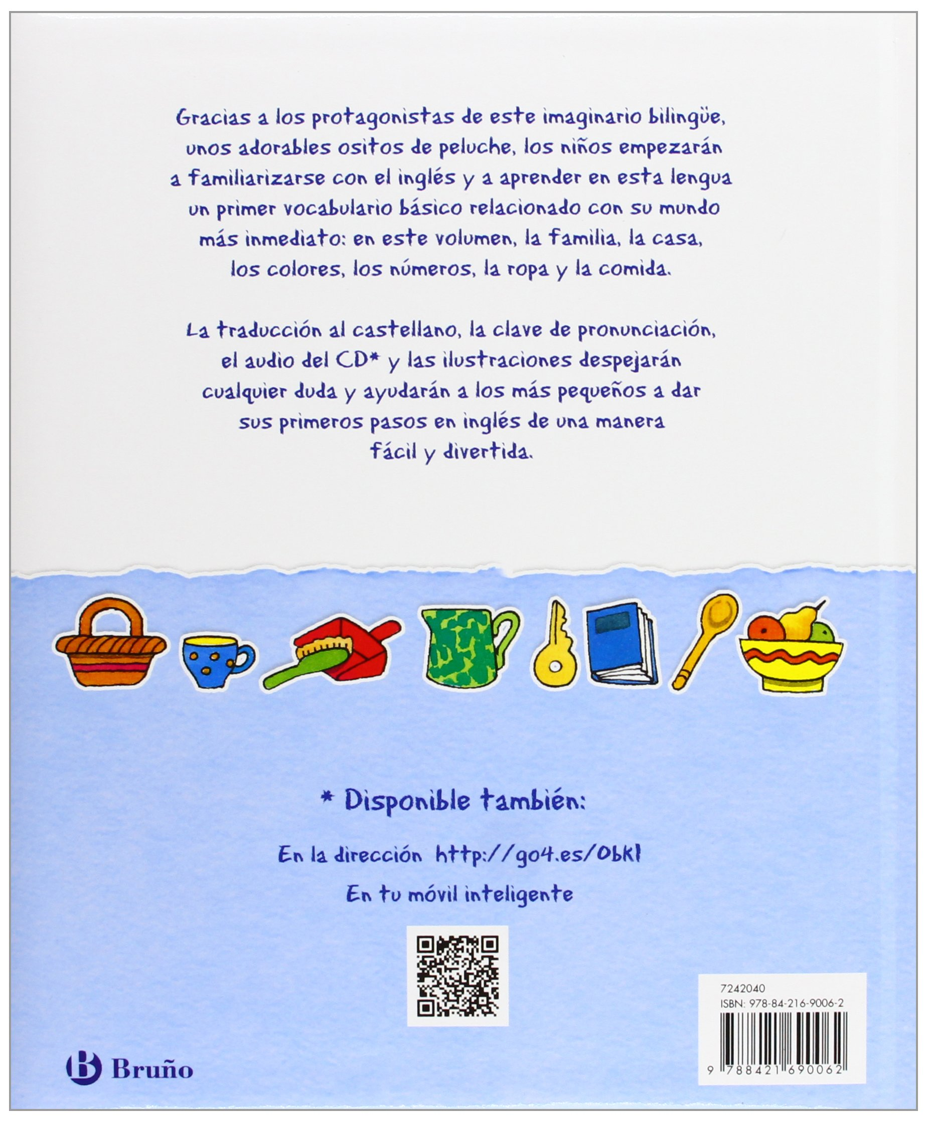 Mis primeras palabras en inglés / Bilingual First Book (Spanish and English Edition): Catherine Bruzzone, Clare Beaton: 9788421690062: Amazon.com: Books
