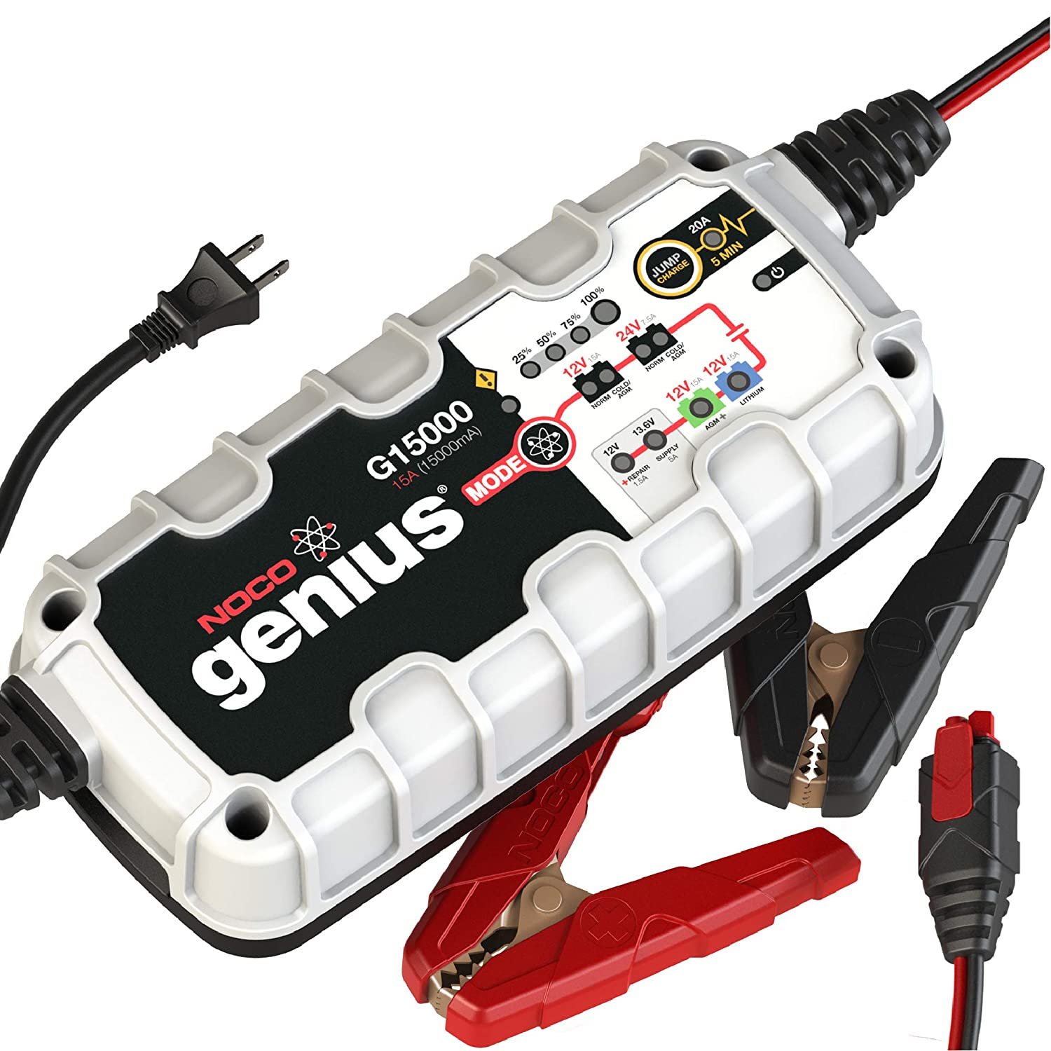 NOCO Genius G15000 Pro-Series Battery Charger}