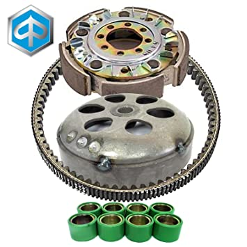 Correa rodillos Campana impulsor embrague para Piaggio MP3 400 2007/2008: Amazon.es: Coche y moto