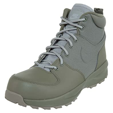 best loved 2a2dd ab5fc Amazon.com   Nike Boy s Manoa 17 (GS) Boot, Dark Stucco Wolf  Grey-Cobblestone 4.5Y   Hiking Boots