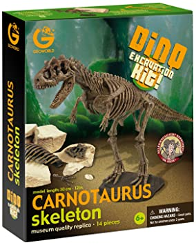 / /Parasaurolophus/ /cl173/K Imitation Game/ Geoworld Dino Excavation Kit/