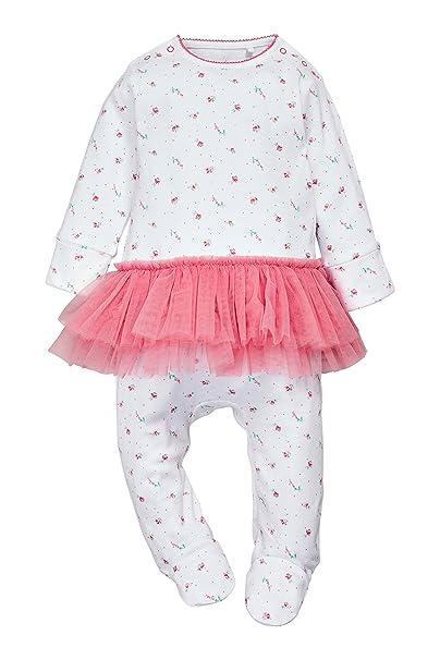 next Bebé Niña Pijama Tutú Flores (0-9 Meses) Corte Estándar 6-