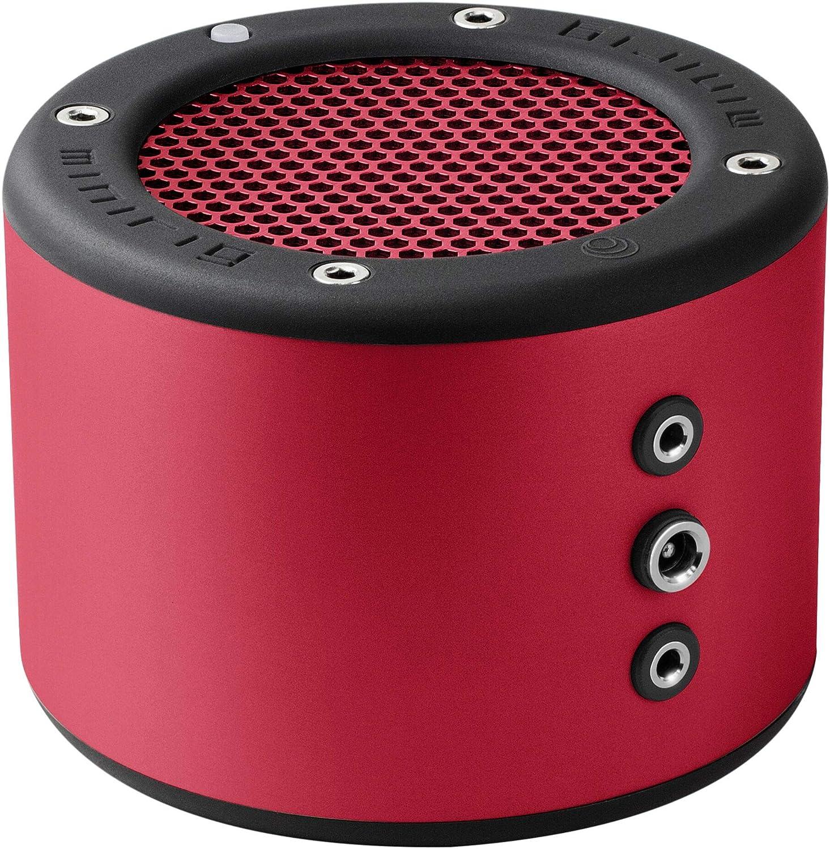 MINIRIG 3ポータブル充電式Bluetoothスピーカー - 100時間バッテリー - 大音量Hi-Fiサウンド - レッド B07N7QDMKK
