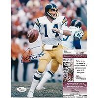$61 » Dan Fouts Autographed Photograph - 8x10 - JSA Certified - Autographed NFL Photos