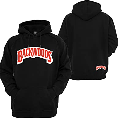 a874c2b2bd1 Backwoods Hoodie Cigarrillos Wiz Khalifa Stoner 420 Off Coast Sweatshirt  Black