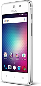 "Blu vivo 5 Mini - 4.0"" Smartphone Factory unlocked, Aluminum design, Silver"