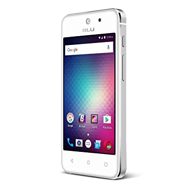 Celular Smartphone Blu D790 4gb Branco Vivo - Dual Chip