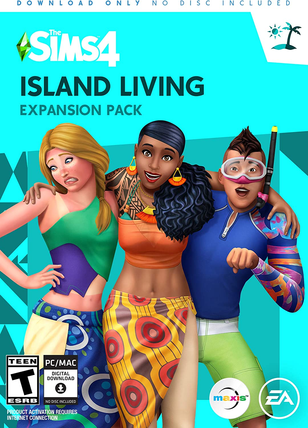 Amazon com: The Sims 4 Island Living [Online Game Code