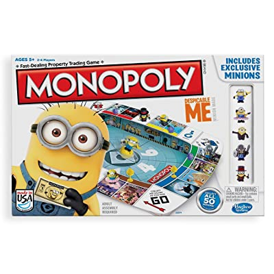 Hasbro Gaming Monopoly Game Despicable Me Edition: Toys & Games