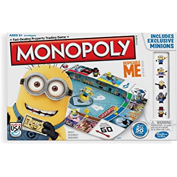 powerful Monopoly Despicable Me Edition