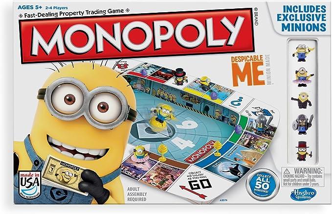 Hasbro Monopoly - GRU, Mi Villano Favorito A2574 (versión en inglés): Monopoly Despicable Me 2 Board: Amazon.es: Juguetes y juegos