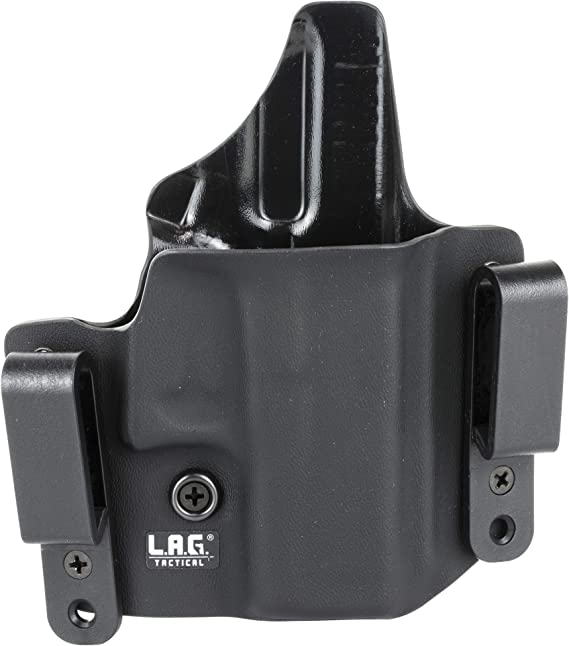 Details about  /L.A.G Tactical DEFENDER IWB OWB Kydex Holster GLOCK 42 RH 1044 NEW FAST SHIP