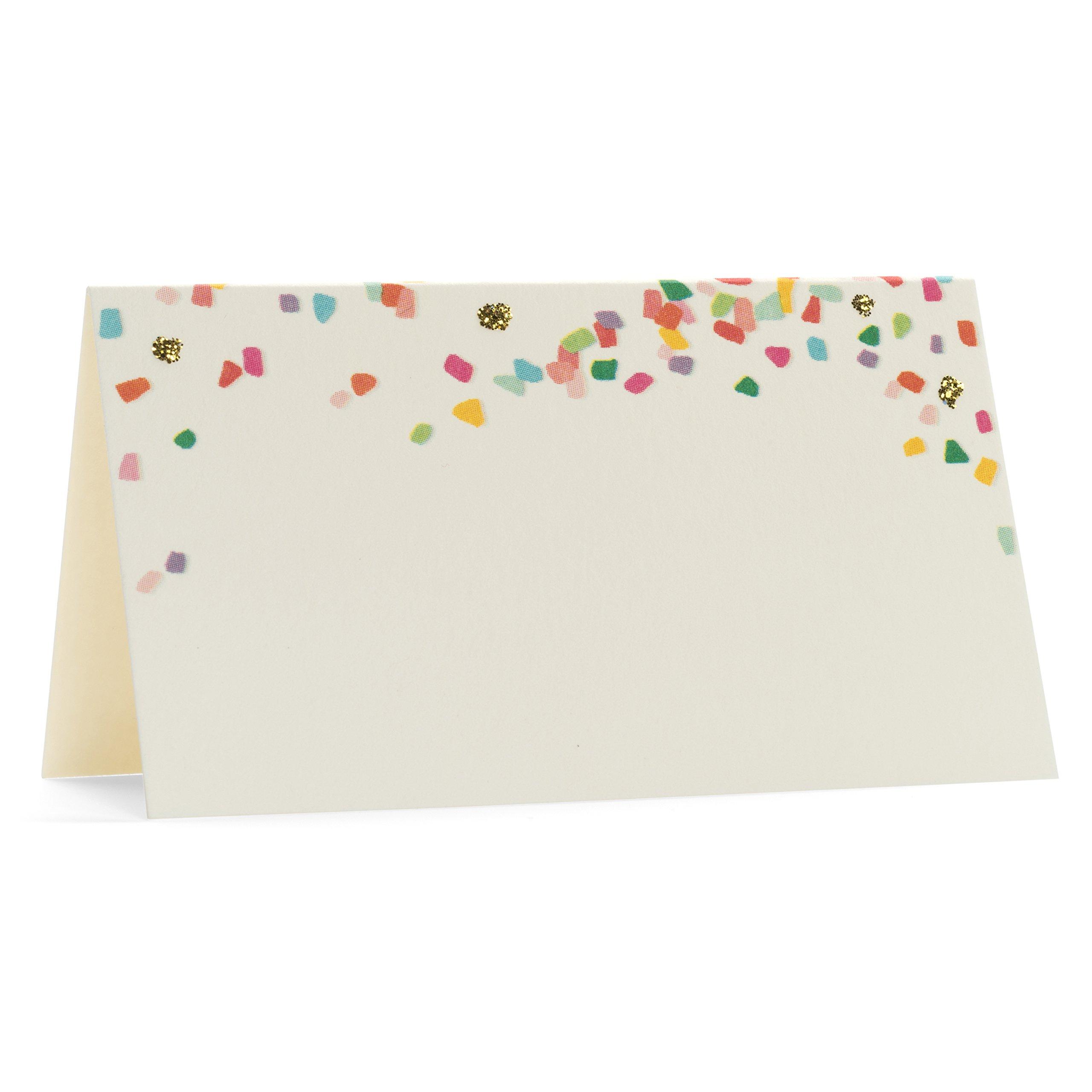 Karen Adams Place Card Set of 10 Confetti by Karen Adams