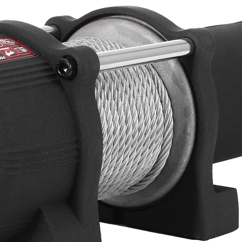 Moracle Cabrestante 12V Winch Sint/ético 1815KG //2721KG//1360KG Cuerda para Winche de Recuperaci/ón con ATV UV 1360kg