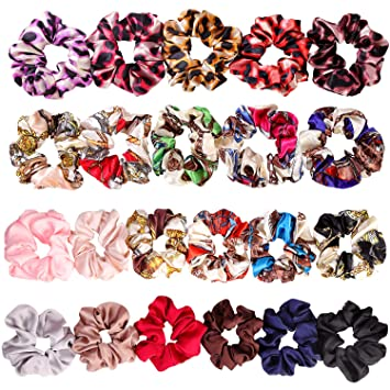 Hair Accessories Set of 14 Thick Coloured Hair Elastics Bobbles Hair Bands