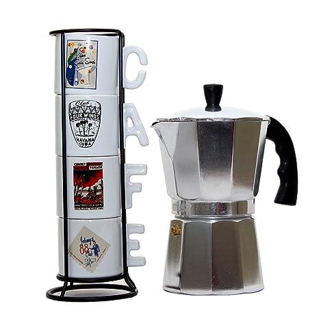 Amazoncom Imusa Classic Aluminum Stovetop Espresso Coffee Maker