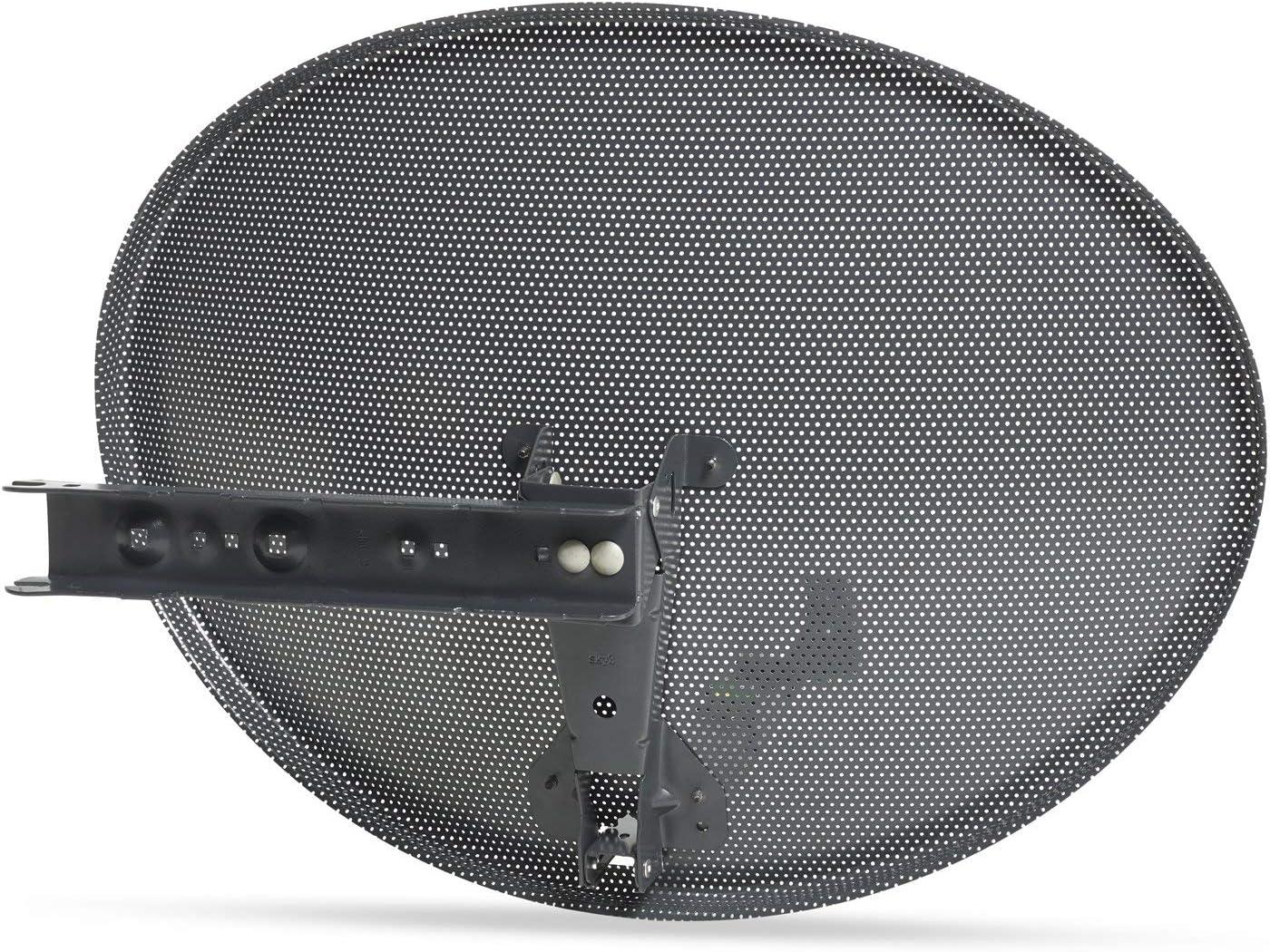 new style SSL Satellites Zone 20 Satellite Dish & Twin LNB for Sky ...