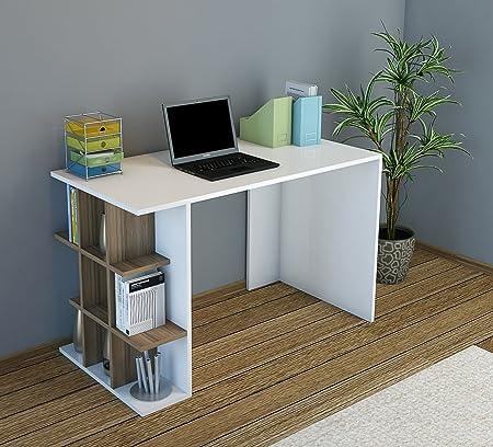 Homidea Plus Escritorio - Mesa - Escritorio con Estante Elemento ...