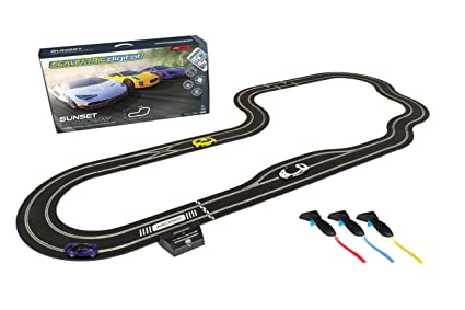 Scalextric ARC Pro App Race Control Sunset Speedway Slot Car Digital 1:32  Race Track Set C1388T