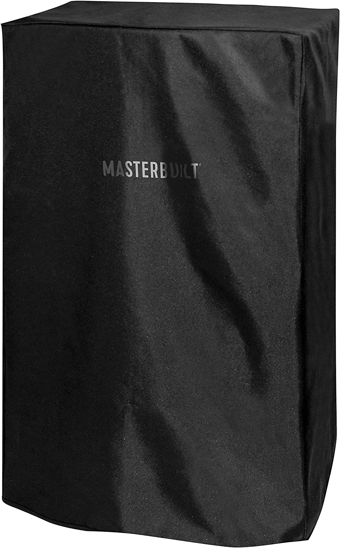 Masterbuilt MB20080319 Electric Smoker Cover, 11.80in. x 11.60in. x 1.20in, Black