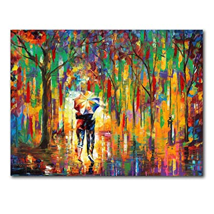 Amazon Com Unframe 100 Hand Painted Oil Painting Modern