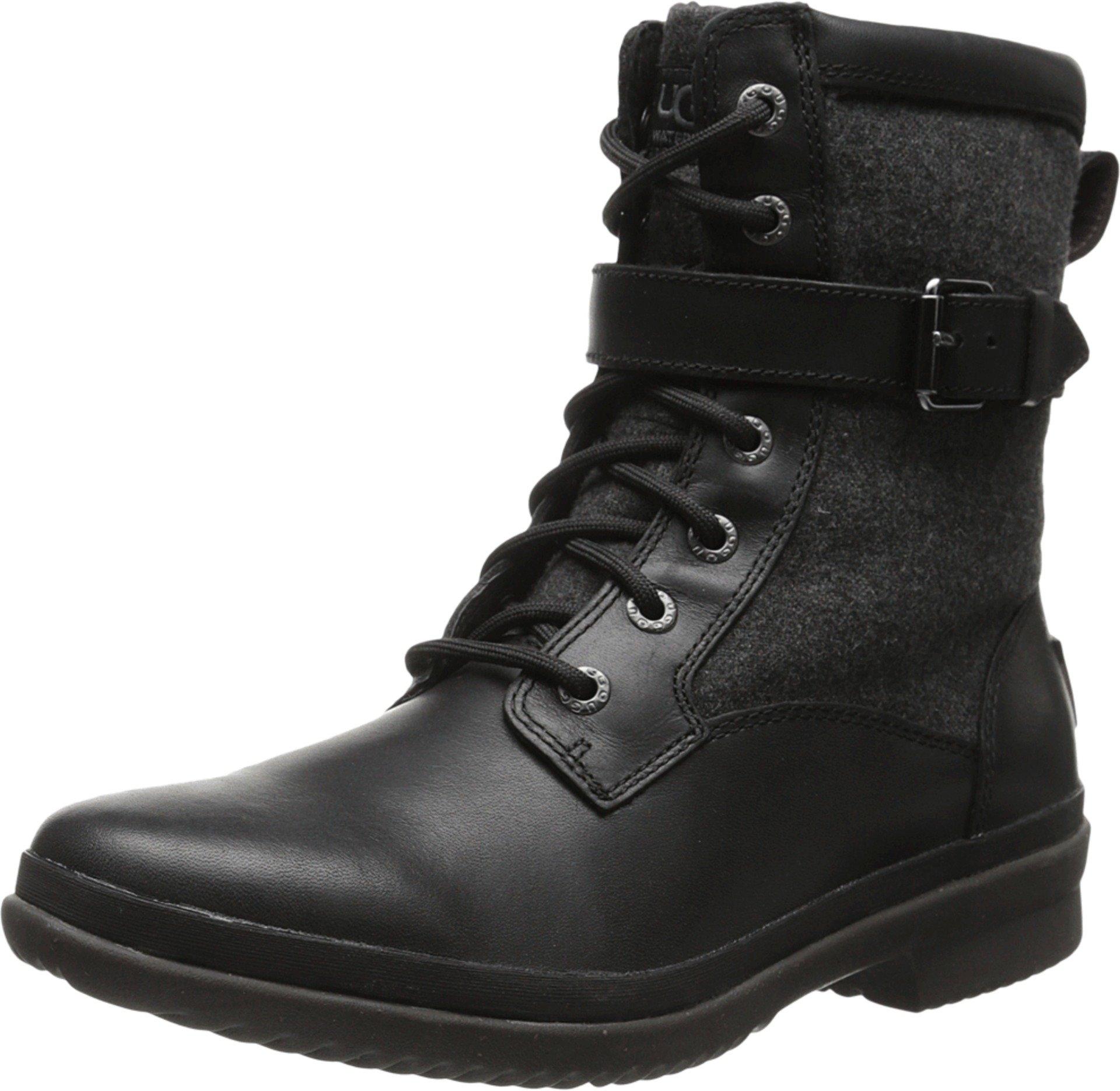 UGG Women's Kesey Boot, Black, 8.5 B US