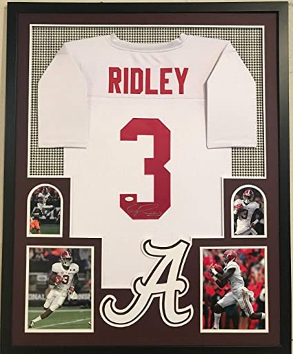 7cd8e6794 Image Unavailable. Image not available for. Color  FRAMED CALVIN RIDLEY AUTOGRAPHED  SIGNED ALABAMA CRIMSON TIDE JERSEY JSA COA