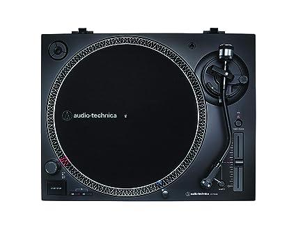 Audio-Technica AT-LP120X, Tocadiscos con USB Plug & Play, Negro ...