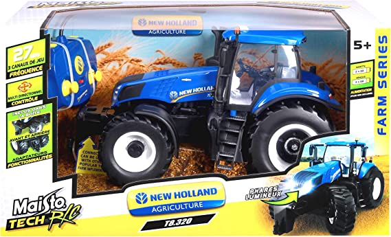 Maisto Trattore New Holland R//C 82026