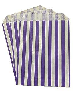 Packitsafe Bolsas de caramelo moradas, bolsa de papel a ...