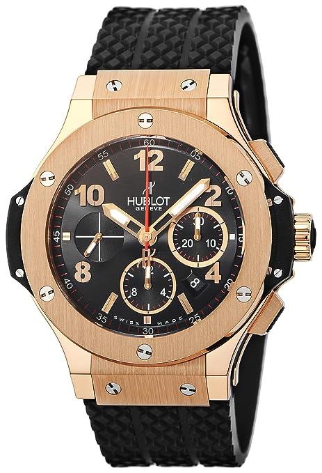 [ウブロ]HUBLOT 腕時計 ビックバン ブラック文字盤 自動巻 クロノグラフ 301.PX.130.RX メンズ