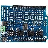 haljia 16-Kanal 12-bit PWM Servo Motor Driver I2C Shield Board Arduino Roboter Raspberry Pi