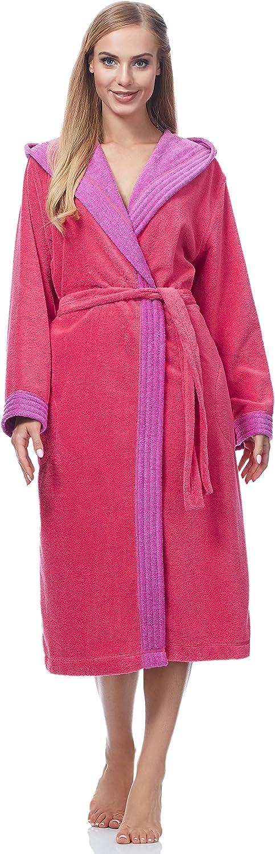 Merry Style Bata Larga con Capucha Vestidos de Casa Ropa Mujer MSLL1001