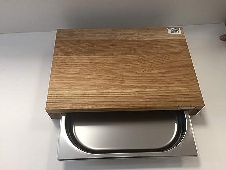 Compra Continenta 4110 - Tabla de cortar (madera de roble ...
