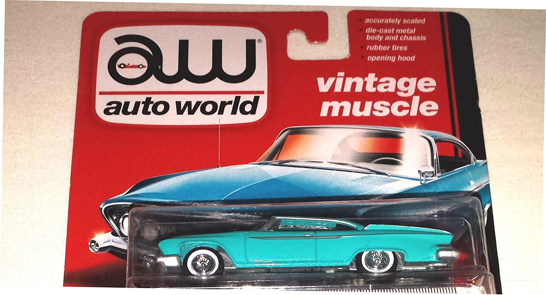 Amazon.com: Auto World 1:64 Vintage Muscle 1961 Dodge Dart Phoenix ...
