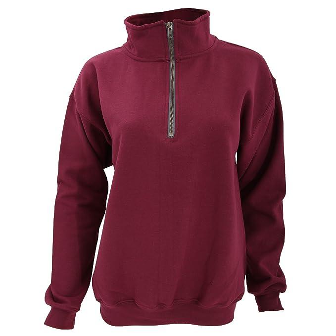 459885207b Gildan Adult Vintage 1 4 Zip Sweatshirt Top at Amazon Men s Clothing ...
