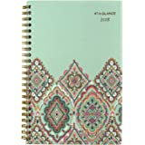 "AT-A-GLANCE Weekly / Monthly Planner, January 2018 - December 2018, 4-7/8"" x 8"", Marrakesh, Light Green (182-200)"