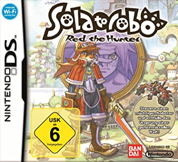 solatorobo red the hunter - nintendo ds