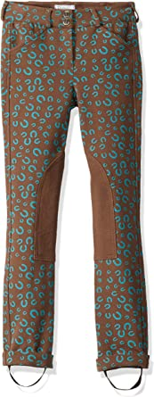 Huntley Equestrian Daisy Clipper Childrens Horse Shoe Riding Pants