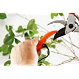 Q-yard QY-007A Handheld Multi-Sharpener Pruning Shears, Garden Hand Pruner