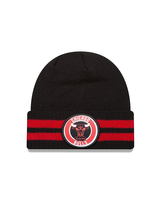 (Chicago Bulls) - New Era NBA HWC 2 Striped Remix Knit Beanie   B01BIQQJNG