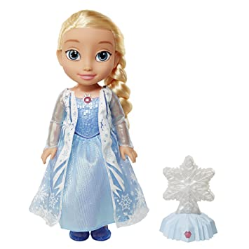 disney la reine des neiges elsa nothern light poupe parlant anglais flocon