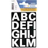Herma 4169 Buchstaben, 25mm, A-Z, Folie wetterfest, weiß, 2 Blatt