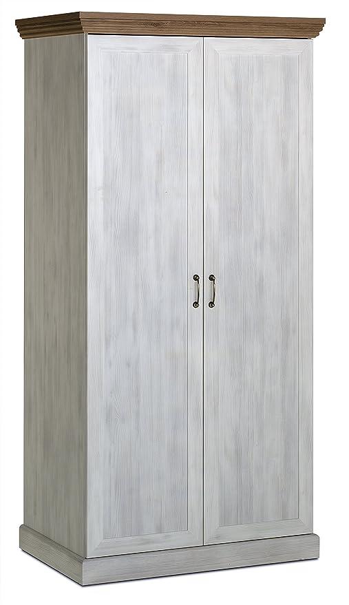 Ideal Ambleside armadio a 2 ante - frassino bianco e rovere H: 197 W ...
