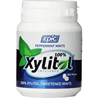 Epic Peppermint Xylitol Dental Mints 180 Pieces, 0.105 count