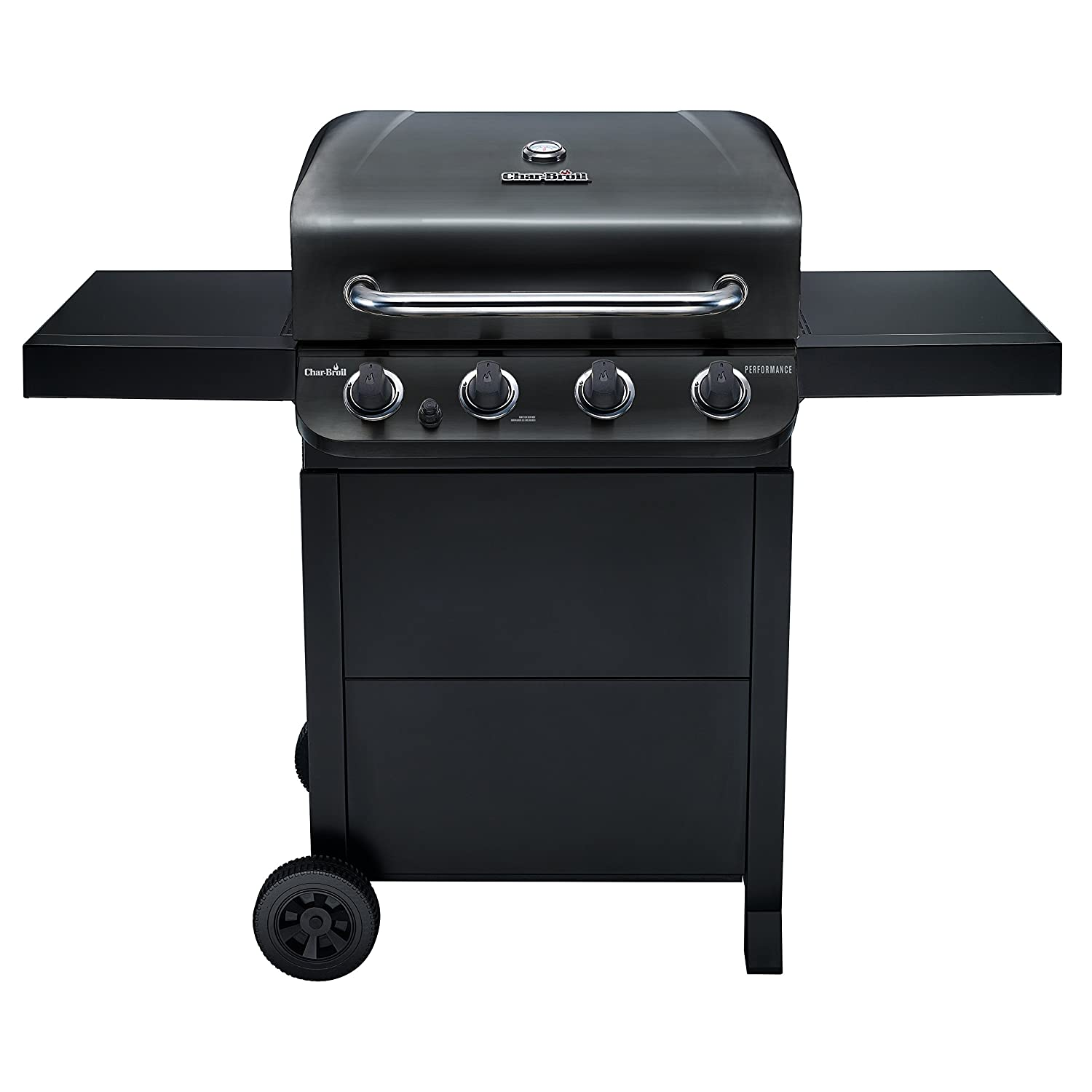 Amazon Char Broil Performance 475 4 Burner Cart Gas Grill