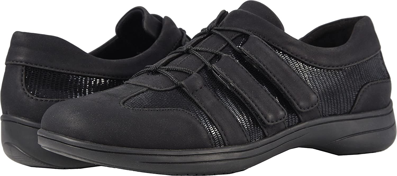 Trotters Women's Joy Sneaker B07931TMH6 11 W US|Black Patent Suede
