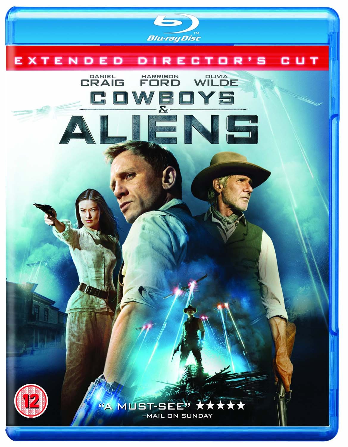 Cowboys & Aliens Edizione: Regno Unito Italia Blu-ray: Amazon.es: Movie, Film: Cine y Series TV